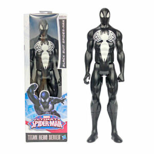 12-034-29cm-Marvel-Titan-Hero-Black-Suit-Spider-man-Action-Figure-Kids-Toys