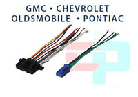 Gmc Factory Car Stereo Cd Player Radio Reverse Male Wire Wiring Harness Plug