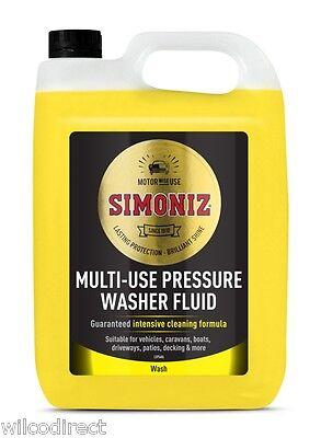 HOLTS Pressure Washer Detergent Pressure washer cleaner 5Ltr X2 BOTTLES 10L