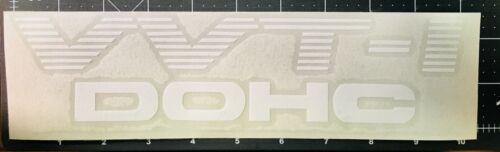 1 X VVTI DOHC car sticker white stripes 10/'/' x 2.2/'/'