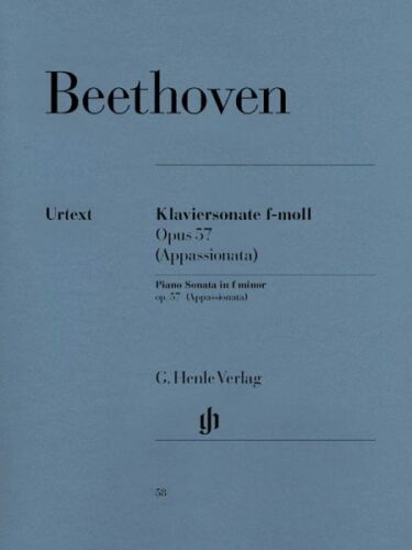 23 in F Minor Op Beethoven Piano Sonata No 57 Sheet Music Appassiona 051480058