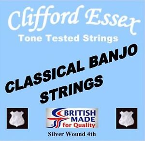 CLASSICAL-BANJO-STRINGS-THE-PROFESSIONAL-039-S-CHOICE-CLIFFORD-ESSEX-THE-BEST