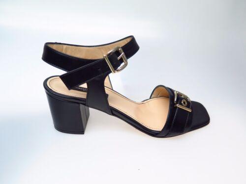 Alberto Designer Damenschuhe Neu Zago Schuhe Vitello 319 39 GrEu Nero Sara m8wOyvnN0