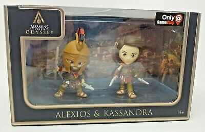Assassin S Creed Odyssey Gamestop Exclusive Figure 2 Pack Alexios