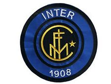 Inter Milan FC jumbo size iron-on/sew-on cloth patch  (os)  REDUCED TO CLEAR