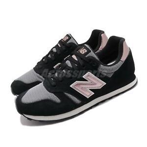New Balance WL373JLA B 373 Black Grey Pink Women Casual Shoes ...