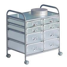 Rollcontainer bad kunststoff  Rollcontainer Schubladenschrank Wagen Büro Bad Kunststoff WEISS ...