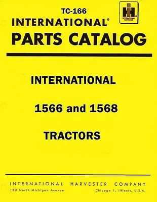 Chassis International Harvester 1066 Tractor Parts Manual