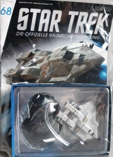 Star Trek vaisseau collection magazine #68 FEDERATION attaque chasseur Eaglemoss allemand