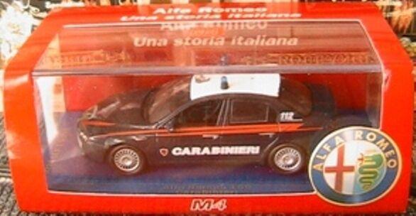 ALFA ROMEO 159 2.4 JTD 2005 GUARDIA DI FINANZA M4  7033 1 43 ITALIA bleu POLIZIA