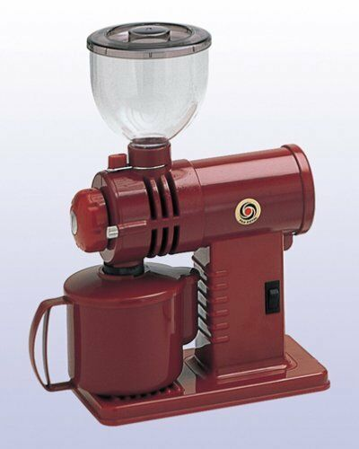 Fuji Royal compact High Performance Mill Mirukko DX Cut and espresso Red R-220