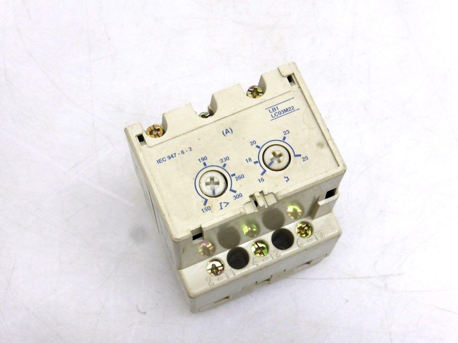 Telemecanique LB1 LC03M22 Schütz; 16 - 25A