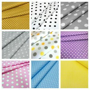 Polka Dot Fabric Various Sizes Spotty 100 Cotton Grey Yellow Pink Black Red Ebay,Backyard Baby Shower Decorations Outdoor