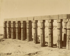 Photo-Zangaki-Albumine-Egypte-Vers-1875-80