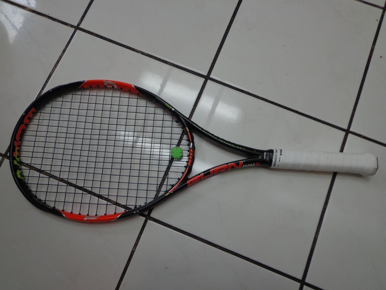 Wilson Burn 100S Spin 18x16 100 head 4 1 4 grip Tennis Racquet