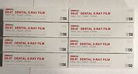 8x Umg Ds-57 D Speed Size 2 Periapical Vinyl Pack Dental X-ray Film 130/box Fda