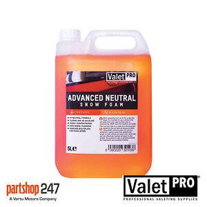 ValetPro Advanced Ph Neutral Snow Foam - 5 Litres Detailing Wheel Car Cleaning