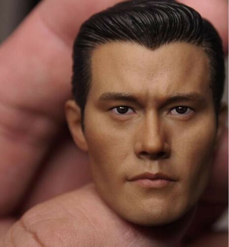 Custom 1//6 Scale Lee Byung-hun T1000 Head Sculpt For Hot Toys Figure Body