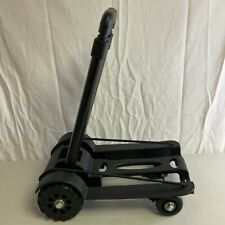 Black Platform Cart Dolly Folding Moving Warehouse Push Hand Truck Trolley Cart