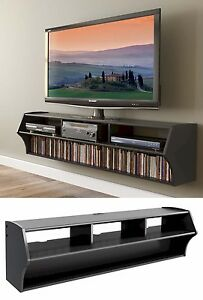 58 Altus Floating Wall Mounted Console Lcdled Tv Stand Wav