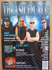 THRASH'EM ALL 1/2003 KAT,Grave,Deicide,Vesania,Danzig,Gamma Ray,Raise Hell