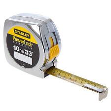 Stanley 0-33-443 10m 33ft powerlock tape measure rule STA033443