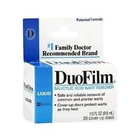 Duofilm Salicylic Acid Wart Remover Liquid, 1 Doctor Recommended on Sale