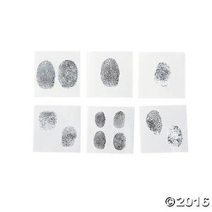 Fingerprint Tattoos 72 Pcs Temporary Tattoo Safe And Non Toxic