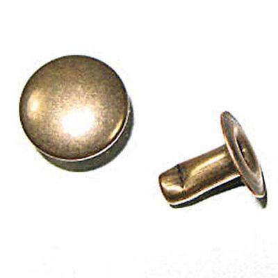 Rapid Rivets Large 9mm Cap 10mm Post Antique