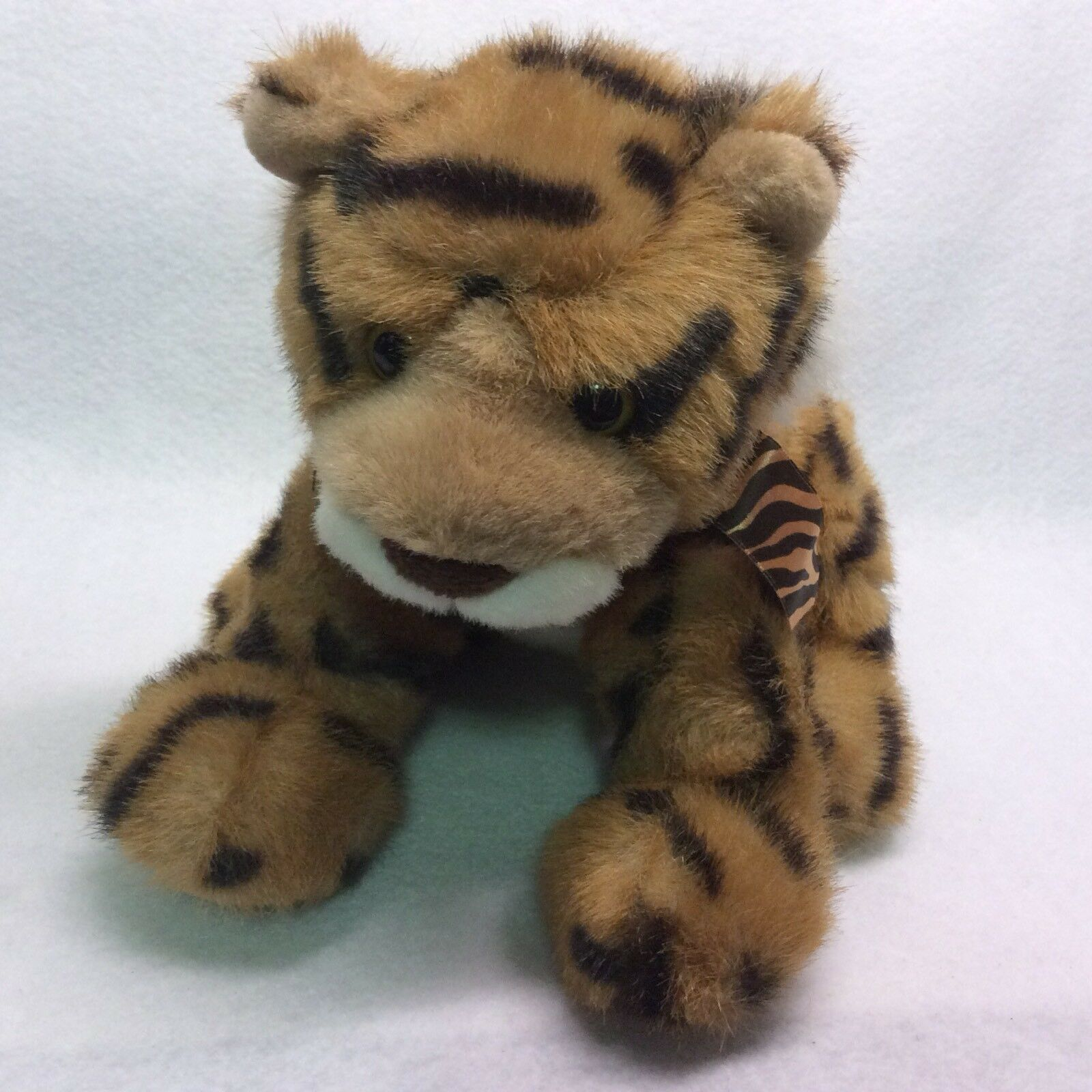 Gund Plush 10  Amani Cheetah - Tiger - Leopard Stuffed Toy Animal - Rare