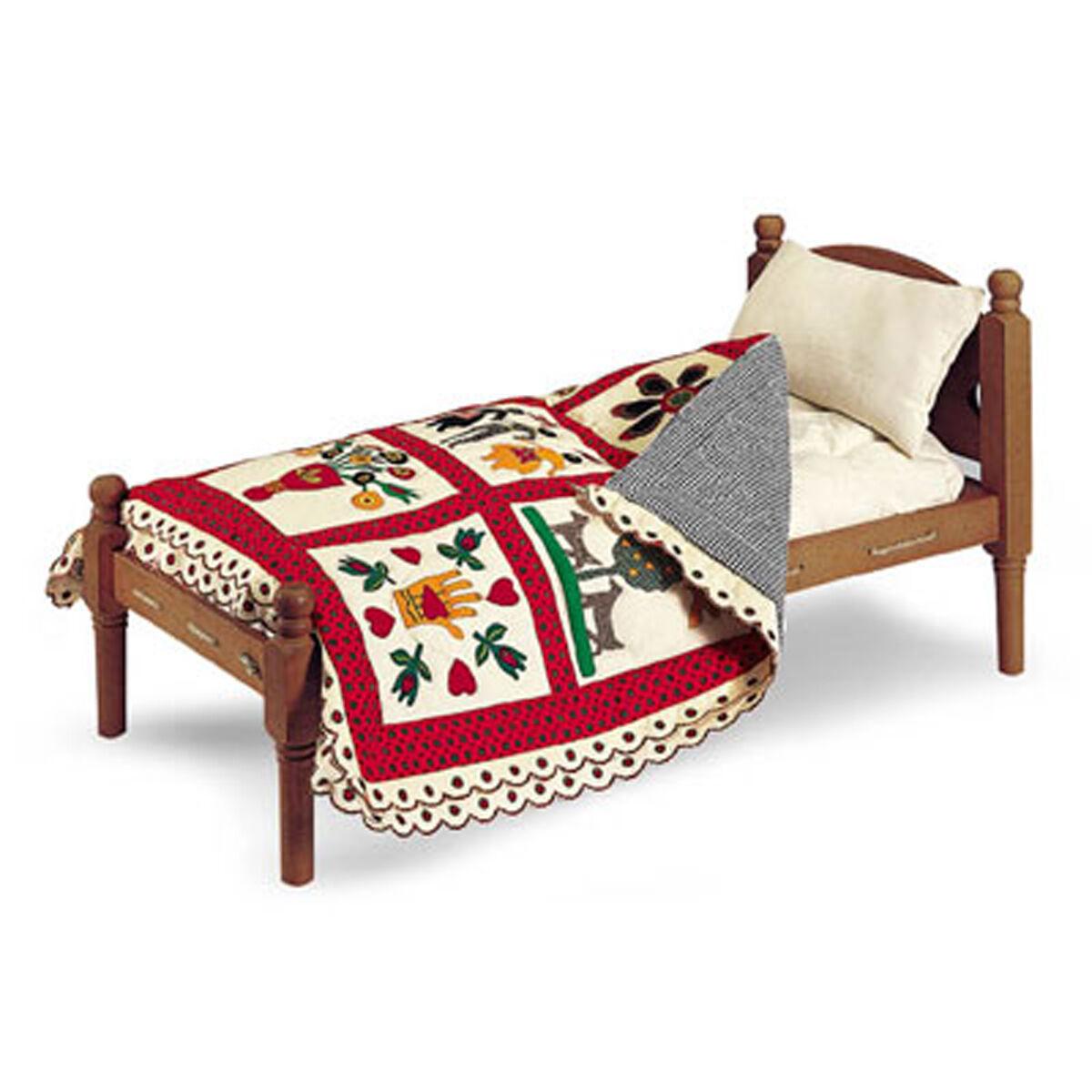 American Girl Addy Bett & Bettwäsche für 45.7cm Puppen Historische Möbel Alte