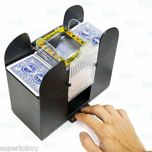 Casino-6-Deck-Automatic-Playing-Card-Shuffler-Holdem-Poker-Cards-not-included
