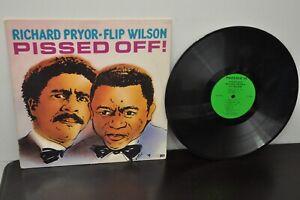 """PISSED OFF!"" Richard Pryor - Flip Wilson Comedy LP Phoenix PHX-360 VG"