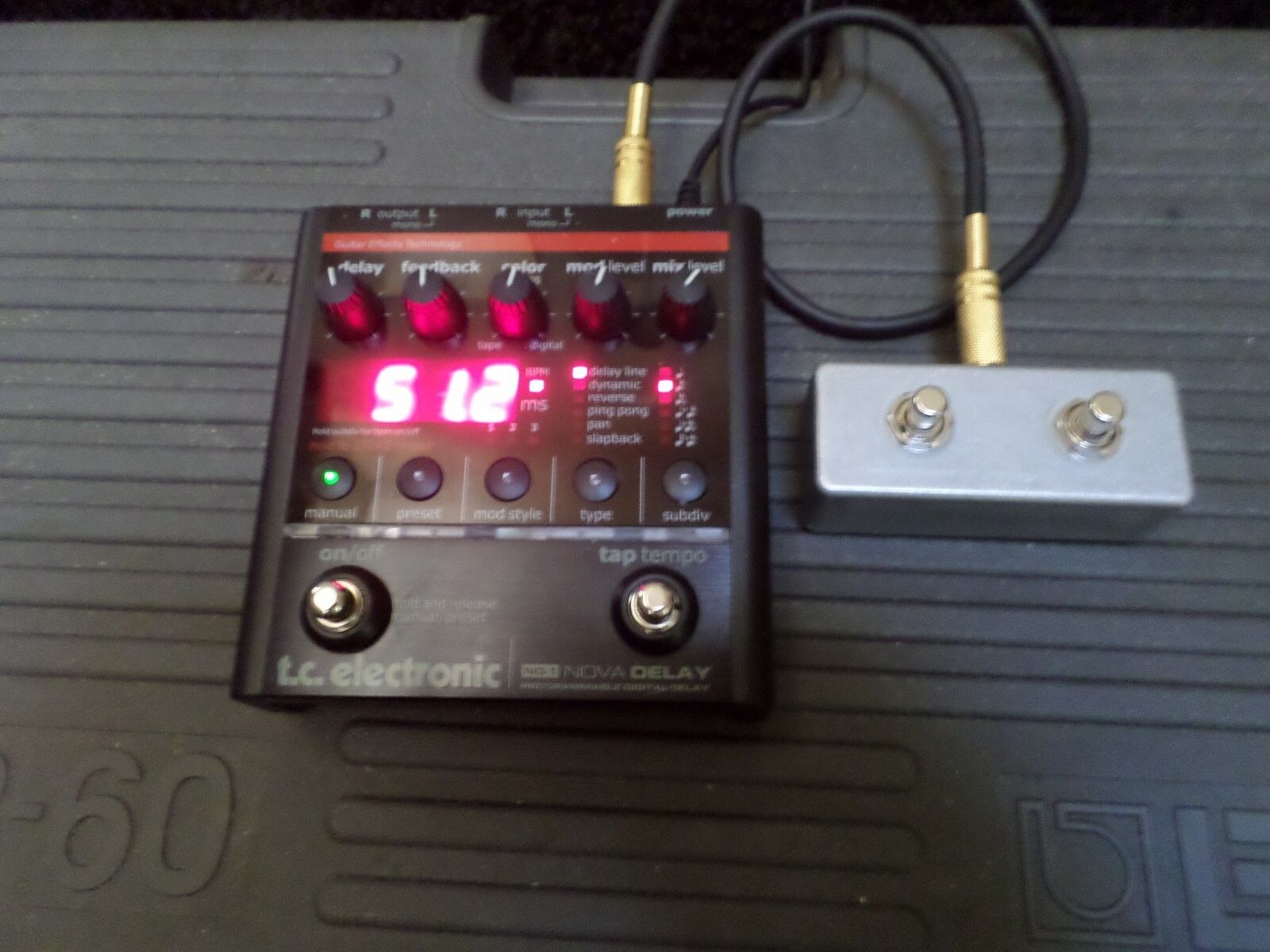 Modified TC ND-1 Nova Delay or NM-1 Modulator