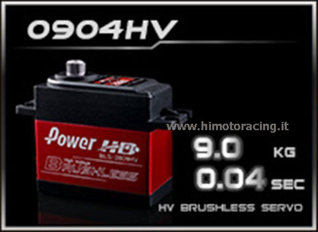 BLS-0904HV Servo digitale brushless Power Hd  High Voltage   BLS-0904HV