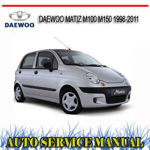 daewoo matiz se owners manual
