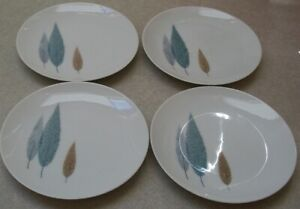 SET-OF-4-NORITAKE-NAMIKI-BREAD-BUTTER-PLATES-about-6-1-2-inches-across