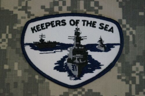 Authentic NEW US Navy Keepers of the Sea Military Patch