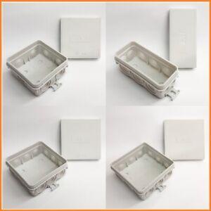 10 x Feuchtraum Kabel Abzweigdosen Abzweigkasten Verteilerdose IP54 Aufputz