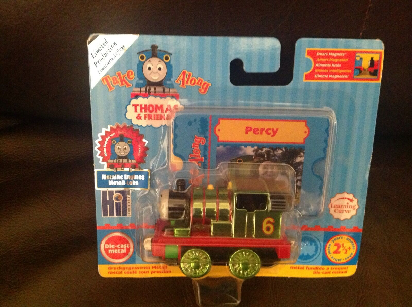 Thomas take along limited edition percy die-cast metal metallic engine very rare