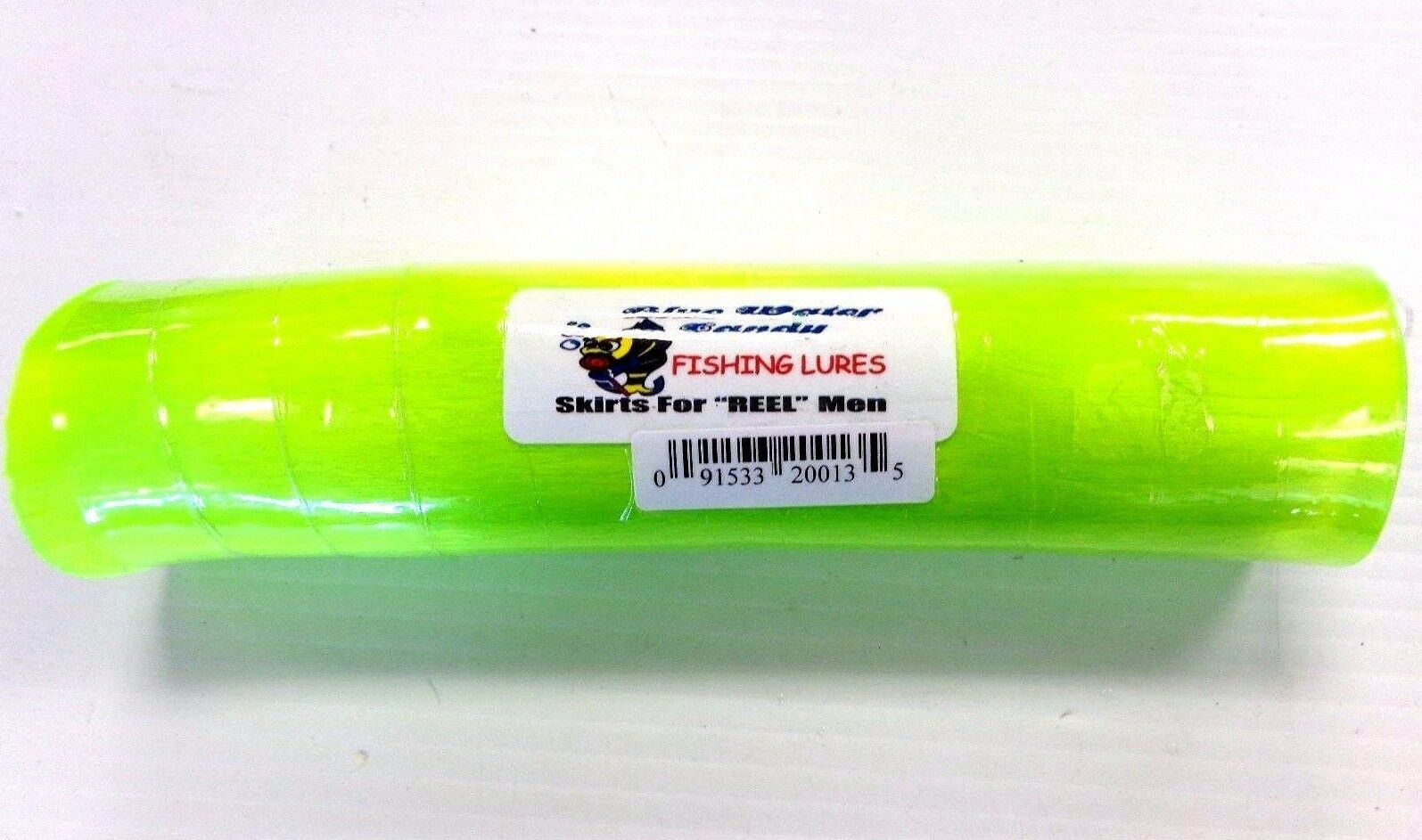 B.W.C. Nylon Lure Hair for  Lure Skirts Making - CRYSTAL LIME, 1 Lb 8  Hank, NEW  best reputation