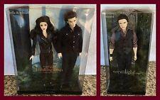 TWILIGHT BARBIE BELLA AND EDWARD GIFT SET TWILIGHT SAGA PART 2 PLUS Emmett doll