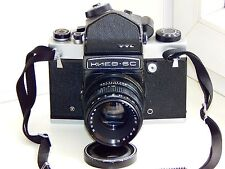 KIEV-6C TTL Camera Medium Format Soviet copy Pentacon Six w/s VEGA-12B EXC