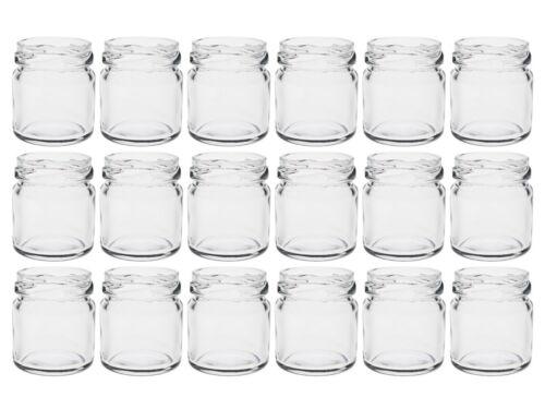100 Mini Sturzgläser 53 ml Marmeladengläser Einmachgläser Einweckgläser Schwarz
