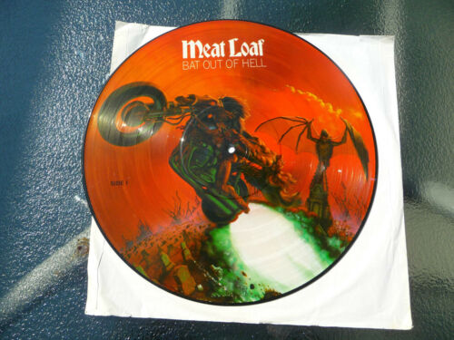 "Meat Loaf Picture Disc""Bat out of Hell"" 12""LP 33Rpm.RARE"