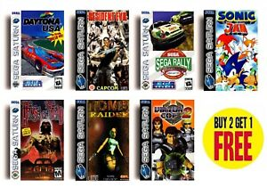 Details about RETRO SEGA SATURN GAME POSTERS COLLECTION A3 / A4 Print Fan  Art