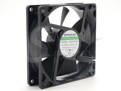ec centrifugal fan motor 92*92*25 mm 92mm 9.2cm dual voltage 115V 230V axial fan