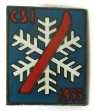 Spilla CSI Centro Sportivo Italiano (Sci) 1955