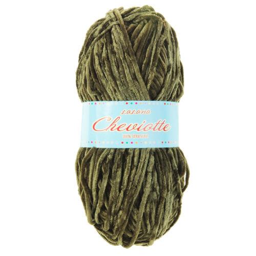 83g Velvet Yarn Soft Chenille Wool Yarn for DIY Weaving Crochet Knitting Project