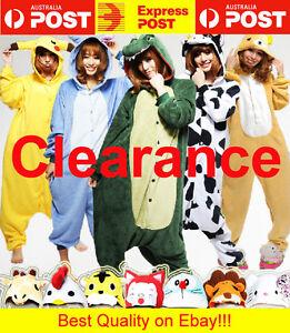 591985e3d Animal Onesies Kids Adult Unisex Kigurumi Party Cosplay Costume ...